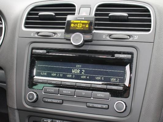 Funkwerk Audio 2010 in VW Golf VI